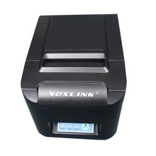 VOXLINK POS printer 80mm thermal receipt printer 260mm/s ESC automatic cutting machine USB+Serial+Ethernet LAN interface DHL