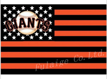 San Francisco Giants Flag 3X5FT 90x150cm 100% Polyester free shipping MLB banner(China)