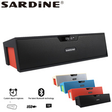 Sardine SDY-019 portable wireless bluetooth Speaker big power 10W output HIFI Support SD card player