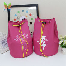Pink dance bag backpack bag Water-proof fabric bag ballet dance bag dancer's handbag for girls women dancer Embroidered Clutchv(China)