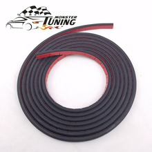 Tuning Monster 4Meter B type Car Rubber Seal Sound Insulation Car Door Sealing Strip Weatherstrip Edge Trim Noise Insulation
