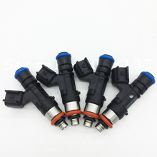 4PCS 100% Original 0280158055 Fuel injector for GMC Ford Explorer Mustang Ranger Mazda B4000 Mercury Mountaineer for Land  Rover