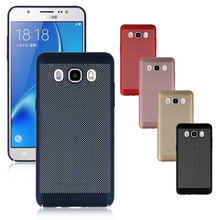 Mesh design Thermorytic Cover Cell Phone Case For Samsung Galaxy J5 2016 Protector Shell