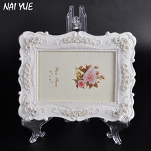 NAI YUE Useful Transparent Large Picture Frame Display Easel Photo Stand Holder Pedestal Plate holder 3 Size