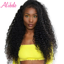 Alibele Raw Indian Deep Curly Hair Wave Bundles Natural Color 100% Human Hair Weave Bundle 10-28inch Remy Hair Extensions 100g(China)
