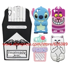 For Lenovo Vibe K5 Case Batman Cigarettes Stitch Minnie Mouse Sulley Tiger Ice Cream Cases For Lenovo K5 Plus / Lemon 3 A6020