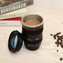 Creative Undertakes To Lens SLR Camera kettle of Coffee Plastic Bottle Business Advertising Gifts Scale Plastic Coffee Tea
