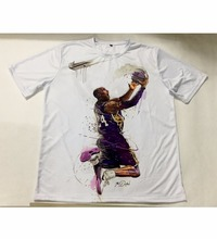 Real American size Kobe with the Shot 3D Sublimatin print  high quality T-shirt Custom Made Clothing plus size