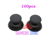 100pcs Analog Joystick Thumbstick Rubber Cap for Sony PS3 PlayStation 3 Controller(China)