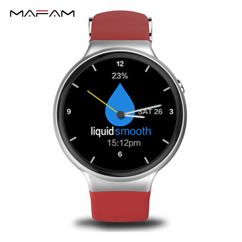 3G WIFI Bluetooth Smart Wrist Watch Phone with Voice Search Pedometer Heart Rate Monitor Google Play Map I4 MF23 for Android ISO(China)