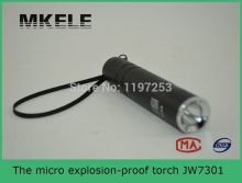 JW7301 micro explosion-proof torch, mini led flashlight keychain,led mini flashlight