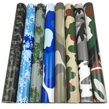 "Buy 24"" x 60"" Digital Woodland Green Camo Camouflage Vinyl Film Sticker Wrap Decal Bubble Free Air Release 2ft x 5ft 60X152cm for $12.34 in AliExpress store"