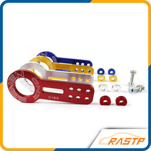 RASTP - Double Lettering BENEN UNIVERSAL FRONT TOW HOOK (ONE PICES: Front ) color:Purple,red,sliver,black,blue,golden LS-TH001(China)