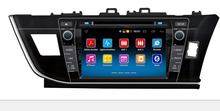 "8"" Android Car DVD Player with TV/BT GPS 3G WIFI,Car PC/multimedia headunit Audio/Radio/Stereo for TOYOTA COROLLA 2013 2014 RHD(China)"