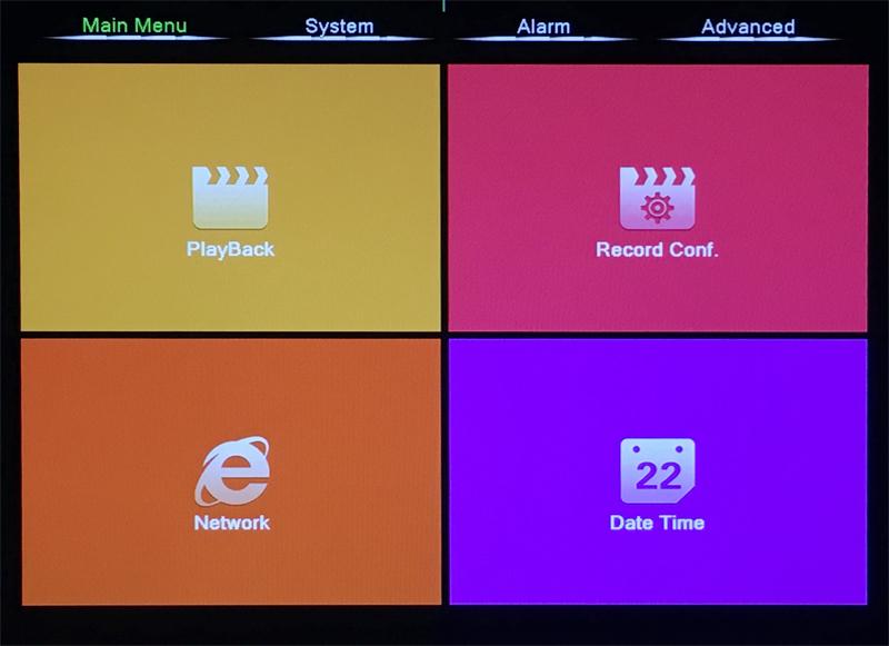 XMeye Hisilicon Chip H264+ 16CH 8CH 4MP Full HD 5 in 1 Hybrid Coaxial WIFI ONVIF TVi CVI IP NVR AHD CCTV DVR menu picture 04
