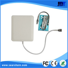 Hot Selling Wall Mount wireless wifi transceiver directional outdoor pannel 1.2g 14DB antenna for GSM CDMA