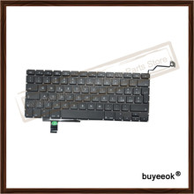 5PCS a1297 Italian Keyboard Replacement Keyboards For Macbook Pro 17'' Italy Language Layout
