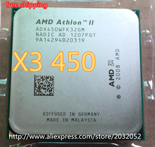 AMD Athlon II X3 450 3.2Ghz Triple-Core Processor Socket AM3 938-pin cpu  working 100% x3 450