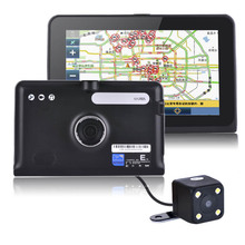 HD 7 inch Capacitive Screen Android  Car Truck GPS Navigation Rear view Tablet PC  Android 4.4.2  WIFI FM 16GB/512M DDR/ 1.5 GHZ