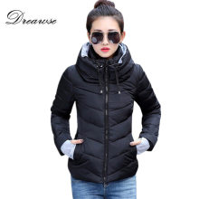 Dreawse 패션 Coat Women Winter 탈지면 Jacket 새 겉 옷 Short Jacket 암 패딩 파카 외투 Warm Coat MC1095(China)
