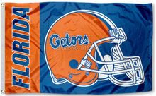 Florida Gators College Helmet Flag 3x5 FT 150X90CM NCAA Banner 100D Polyester Custom flag grommets 6038,free shipping(China)