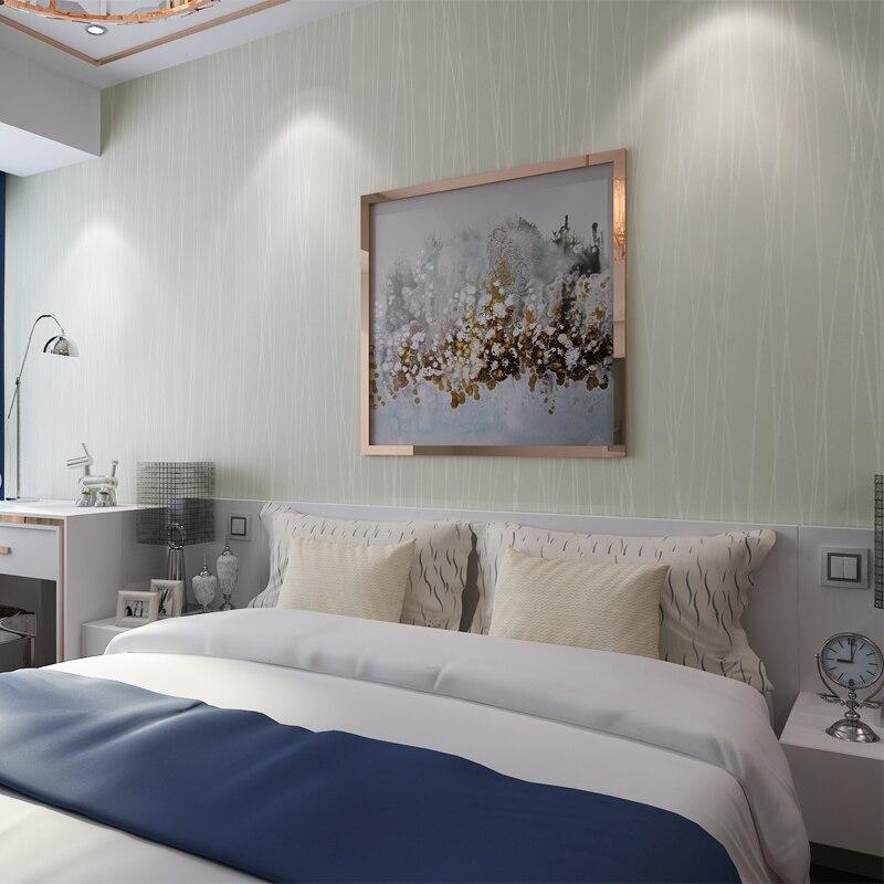 HANMERO Modern Simple Striped Interior Wallpaper Washable Eco-friendly Non-woven Wallpaper papel de parede QZ0100<br><br>Aliexpress