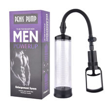Buy Penis Vacuum Pump Men Bigger Enlarger Enhancer Tool Growth Enlargement New penis pump sleeve penis pump sex toys men