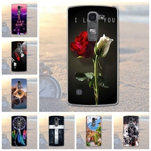 Fundas Phone Case Cover for LG Spirit 4G LTE H440Y H422 H440N H420 Soft TPU Flowers Animals Scenery Phone Cover for LG Spirit