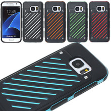 Honey New PC burst / fall / shake Proof Case for Samsung Galaxy S7 Back Cover Skin Protector shell anti Shockproof Dirtproof
