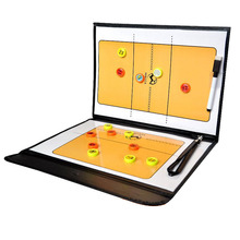 Professional Volleyball Coach Board Foldable Tactical Volei Volley Ball Coach Plate With Pen Coaching Book For Volleyball
