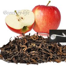 Beautiful Tea strainers+gift Apple Flavor Puerh Tea,Fruit flavor Loose Leaf Pu'er,Reduce weight Ripe Pu-erh,CTX806