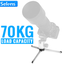 Selens SE-T06 Portable Aluminum Alloy Mini Tripod Ultra Compact 70KG Load Capacity 45mm Working Height(China)
