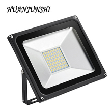 Wholesale LED Floodlight 50W IP65 AC220V Waterproof Cold white/warm white Garden Light Exterior Spotlight LED Street 5pcs