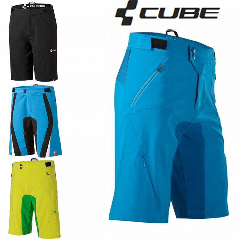 Top Quality CUBE Shorts Downhill Mtb Cycling Shorts Men Rock Racing Mountain Bike Shorts Quick Dry Culote Ciclismo Hombres<br><br>Aliexpress
