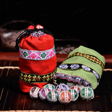 50pcs puerh tea,10 different Kinds flavors Chinese yunnan puer tea puer ripe pu er tea bag gift the  pu erh food lose weight