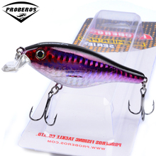 "1PC  New Design Painting Fishing lure 3.3""/11.09g Vib Bait 6 color Crankbait Fishing Tackle"