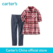 Carter's 2pcs baby children kids 2-Piece Metallic Flannel Tunic & Jegging Set 279G056,sold by Carter's China official store