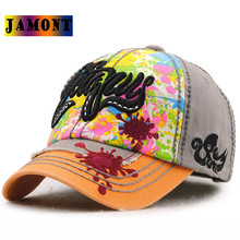 JAMONT drop shipping baseball cap kids trend Snapback Parent Child Embroidery Letter Boys And Girls Flat Hip Hop High Quality