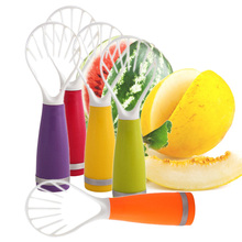 Creative DIY Fruit Scoop Candy Color Plastic Fruit Dig Cooking Tools Fruit Vegetable Tools Kitchen Accessories Gadgets