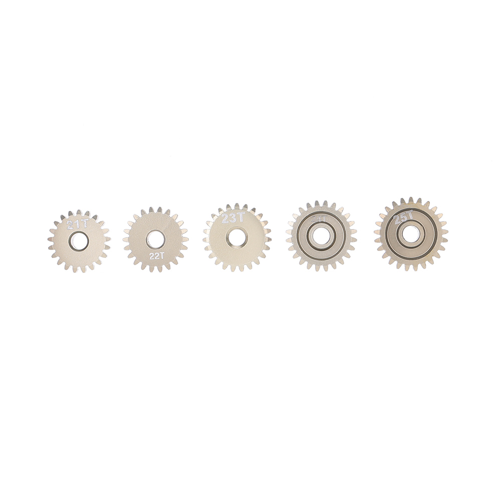 GoolRC 48DP 21T 22T 23T 24T 25T Metal Pinion Motor Gear Combo Set for 110 RC Car Brushed Brushless Motor Gears RC Model Part (6)