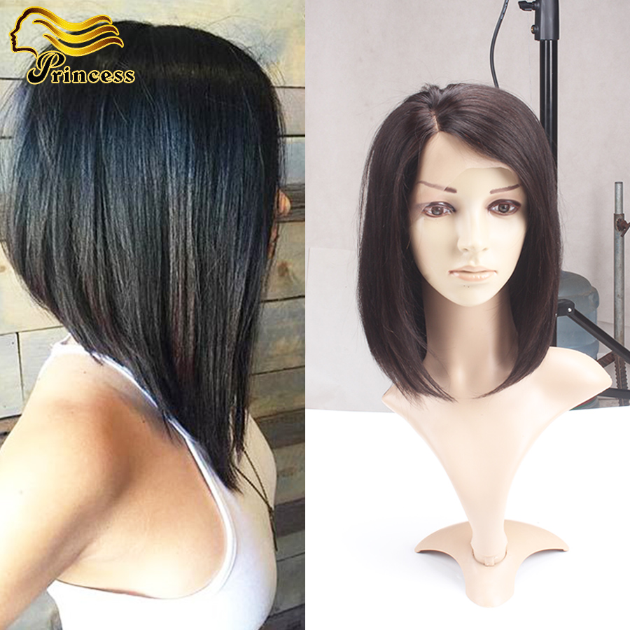 Malaysian Human Hair Bob Straight Wigs With Baby Hair Short Lace Frontal Wigs Bleached Knots Bob Virgin Hair Wig For Black Women<br><br>Aliexpress