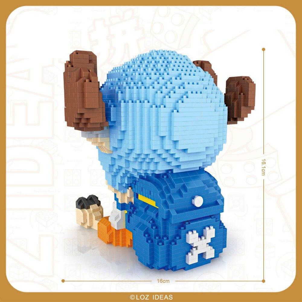 LOZ Mini blocks One piece Chopper 9044-2