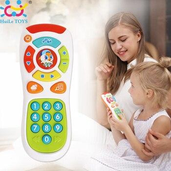 Bébé Toys Début Éducatifs Toys Électrique Cliquez et Compter À Distance Musique D'apprentissage Machine Meilleur Anniversaire Cadeaux pour Bébé 6 Mois +