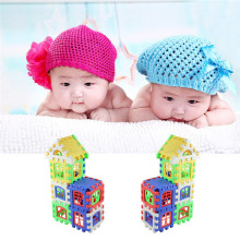 Kids Children House Building Blocks Baby Early Educational Learning Construction Developmental Toy Set Kids Brain Teaser Game