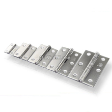 Top Designed 8PCS Silver Tone Cabinet Hinges Furniture Accessories Mini Cabinet Drawer Butt Hinge Furniture Fittings For Cabinet