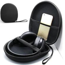 Hard Case Storage Carrying Bag Box for Earphone Headset Headphone Earbuds Memory Card Big Headphone Storage Bag outdoor(China)