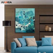 3D Cubic Pastorale Abstract Art Canvas Painting Print Poster Wall Picture Modern Nordic Home decoration Living Room No Frame