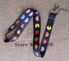 Hot Sale! 10 pcs Popular Game  Key Chains Mobile Cell Phone Lanyard Neck Straps Children   Favors SZ-117