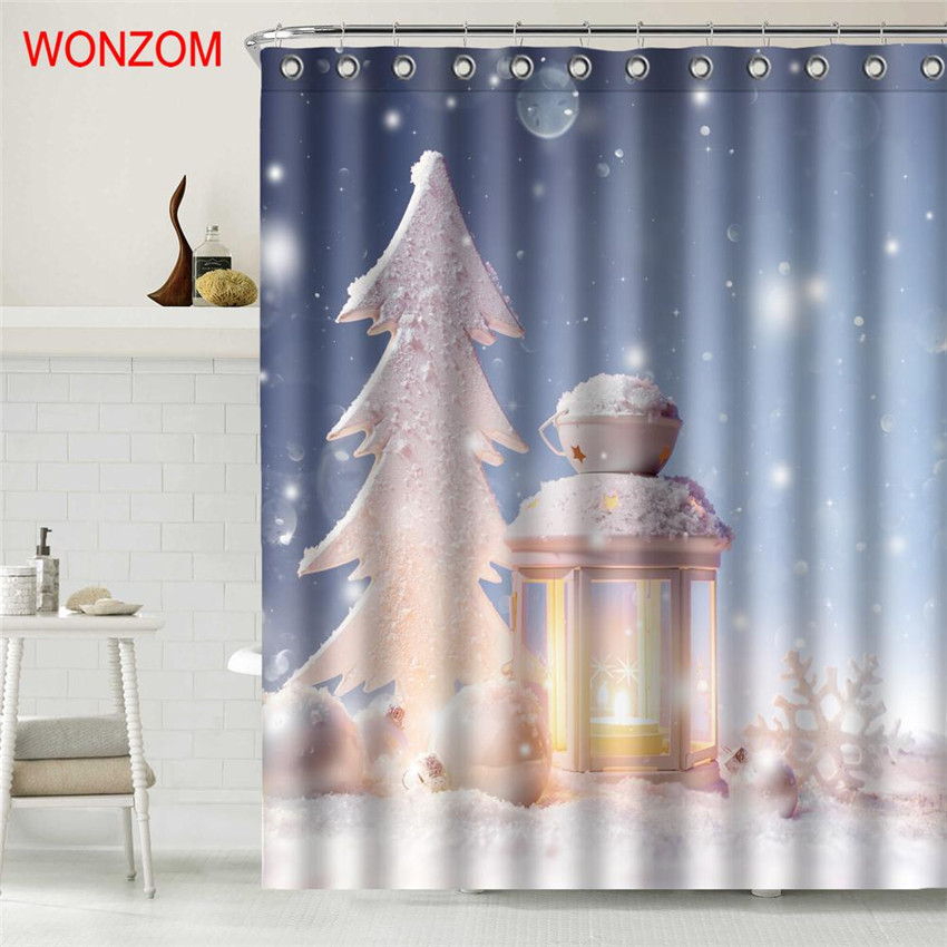 Solid Color Shower Curtain Polyester White 10 Pieces//Bag 5 Bags Baiyun