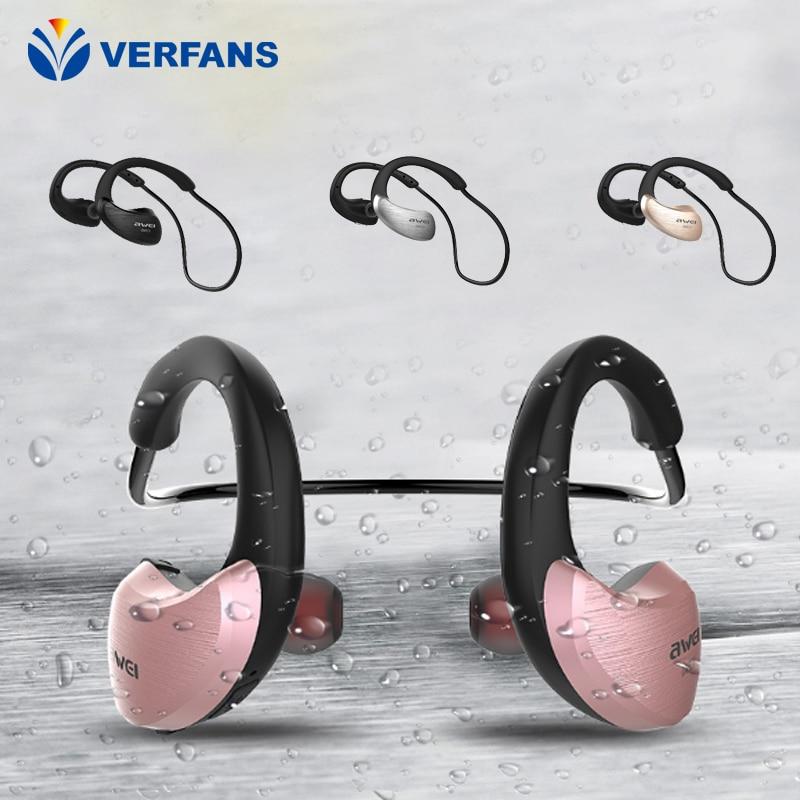 BERFANS A855BL Sports Bluetooth Earphones IPX4 Waterproof Earphones Backhoe Earphones NFC Quicklinks<br>